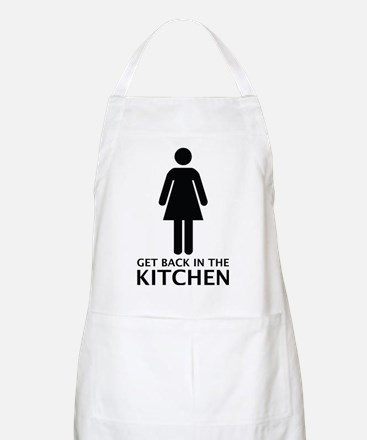 Get Back In The Kitchen Apron