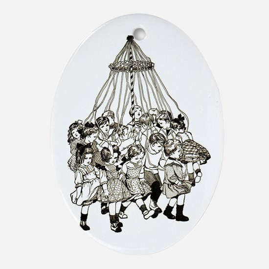 Maypole Ornament (Oval)
