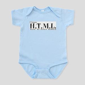I know HTML Infant Bodysuit
