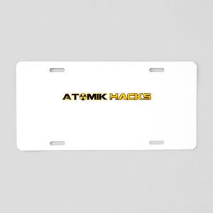 Misc Aluminum License Plate