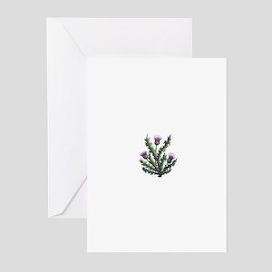 scottish thistle Greeting Cards (Pk of 10)