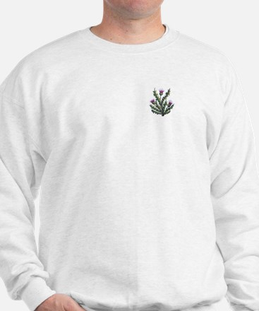 scottish thistle Sweatshirt