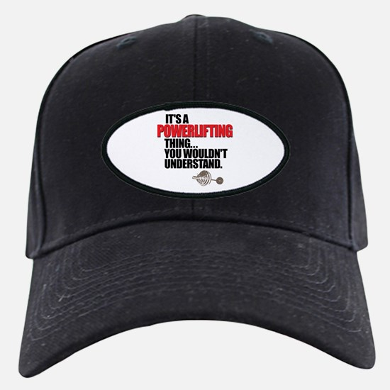 A POWERLIFTING THING Baseball Hat