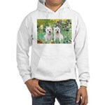 Irises-Westies 3and11 Hooded Sweatshirt