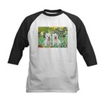 Irises-Westies 3and11 Kids Baseball Jersey