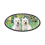 Irises-Westies 3and11 Patches