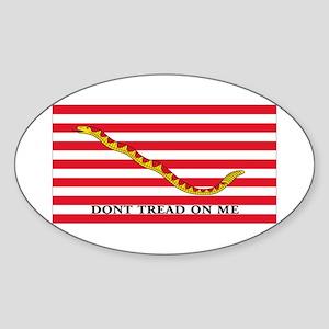 DONT TREAD Oval Sticker
