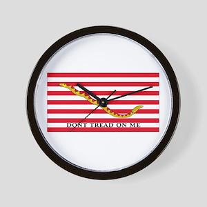 DONT TREAD  Wall Clock