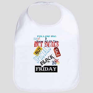 Follow Me-Black Friday Bib