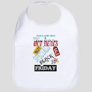 Follow Me-Black Friday Bib