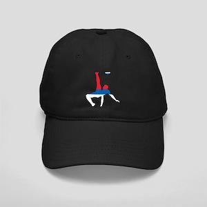 Serbia Soccer Black Cap