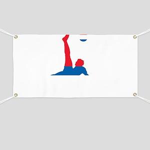Serbia Soccer Banner