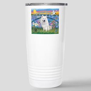 Lily Pond (JF) / Eskimo Stainless Steel Travel Mug