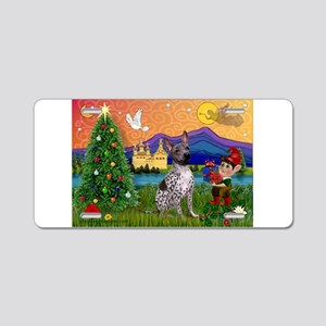 Christmas Fantasy & AHT Aluminum License Plate