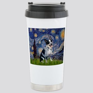Starry Night/ Australian Catt Stainless Steel Trav