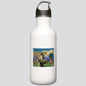 St Francis/ Aus Shep Stainless Water Bottle 1.0L