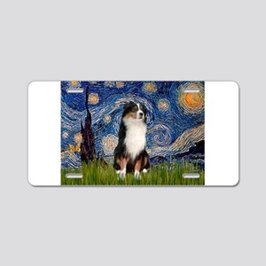 Starry / Aussie (#2) Aluminum License Plate