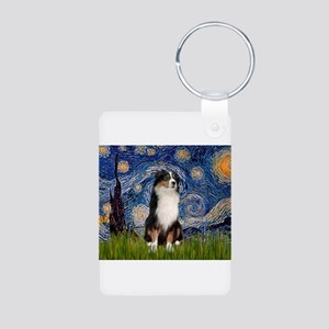 Starry / Aussie (#2) Aluminum Photo Keychain