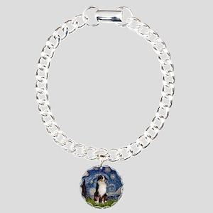 Starry / Aussie (#2) Charm Bracelet, One Charm