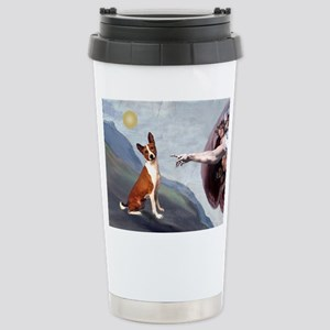 Creation of the Basenji Stainless Steel Travel Mug