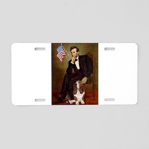 Lincoln & Basset Aluminum License Plate