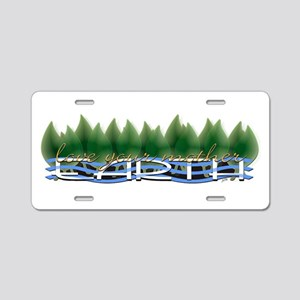 Love Your Mother Earth Aluminum License Plate