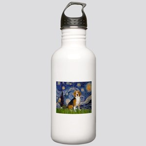 Starry Night & Beagle Stainless Water Bottle 1.0L