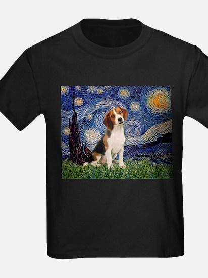 Starry Night & Beagle Pup T