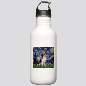 Starry Night & Beagle Pup Stainless Water Bott