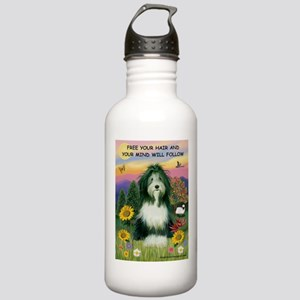 Free Your Hair... Beardie Stainless Water Bottle 1