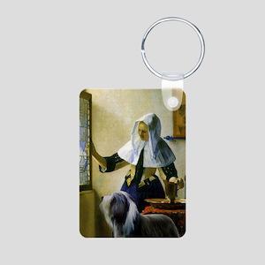 By Vermeer + Beardie Aluminum Photo Keychain