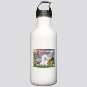 Cloud Angel & Bichon Stainless Water Bottle 1.0L