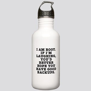 I am root Stainless Water Bottle 1.0L