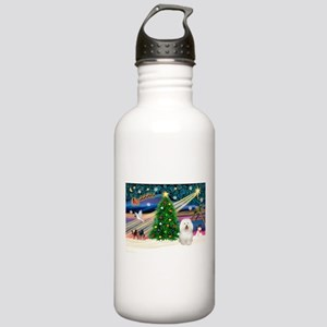 Xmas Magic/Bolognese Stainless Water Bottle 1.0L