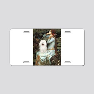 Ophelia & Bolognese Aluminum License Plate