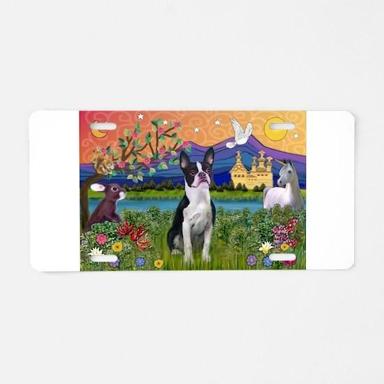 Fantasy Land/Boston T Aluminum License Plate