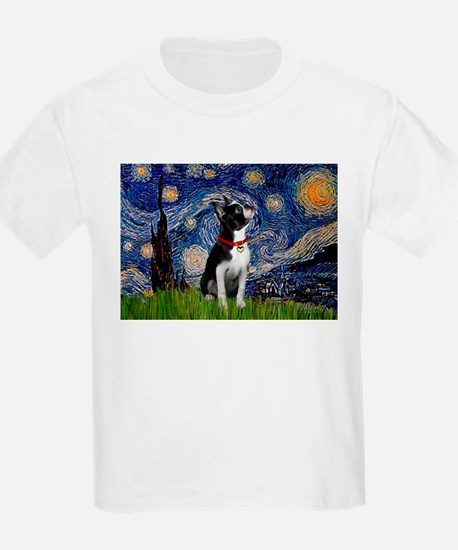 Starry Night & Boston T-Shirt
