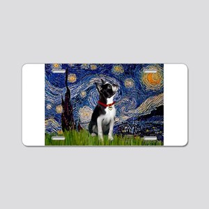 Starry Night & Boston Aluminum License Plate