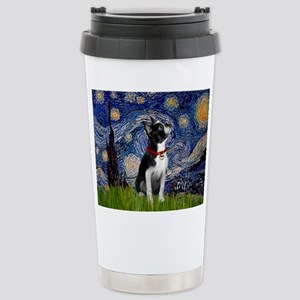 Starry Night & Boston Stainless Steel Travel Mug