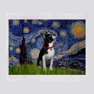 Starry Night & Boston Throw Blanket