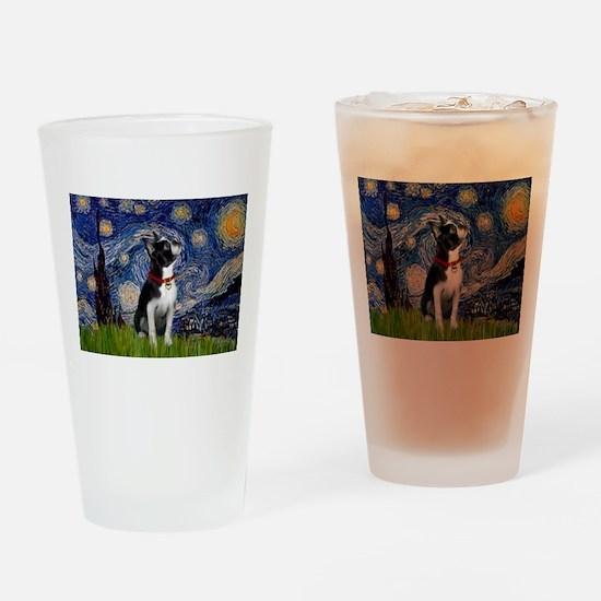 Starry Night & Boston Drinking Glass