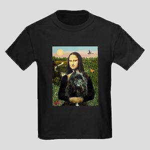Mona / Bouvier Kids Dark T-Shirt