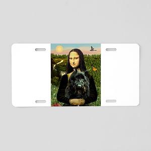Mona / Bouvier Aluminum License Plate