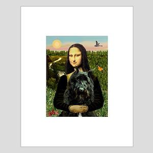 Mona / Bouvier Small Poster