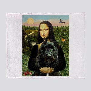 Mona / Bouvier Throw Blanket