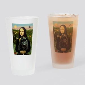 Mona / Bouvier Drinking Glass