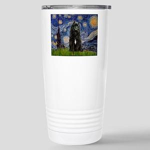 Starry Night Bouvier Stainless Steel Travel Mug