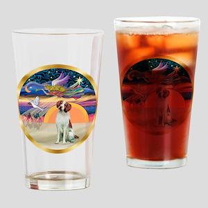 XmasStar/Brittany Drinking Glass