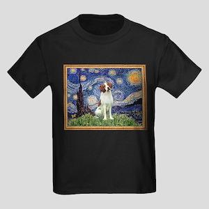 Starry Night/Brittany Kids Dark T-Shirt