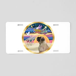 XmasStar/Mastiff #7 Aluminum License Plate